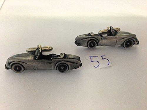 daimler-dart-sp250-3d-cufflinks-classic-car-pewter-effect-cufflinks-ref55