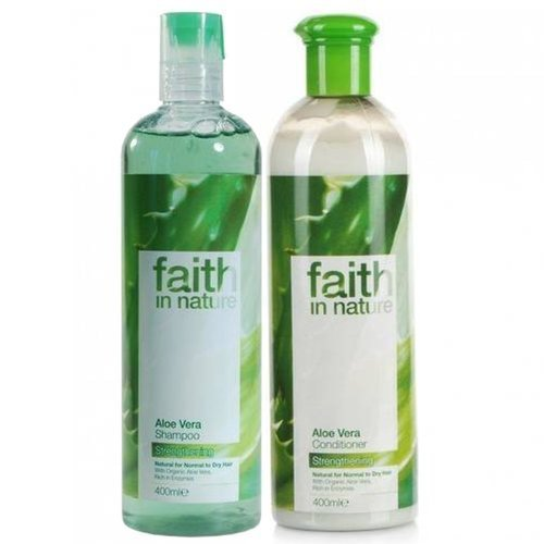 Faith in Nature – Aloe Vera Shampooing et après-shampooing