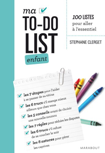 Ma To-do list enfant par Stéphane Clerget (Docteur)
