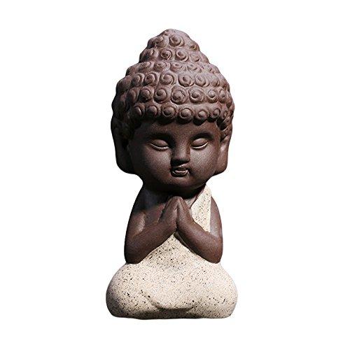 amenten Exquisite Dekofigur Töpferei violett 5 (Buddha-halloween-maske)