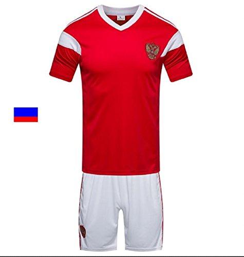 Shi18sport 2018 Fußball Trikot Russisch Erwachsene Junior Trikot Set Training Team Service Fan Souvenir, XL