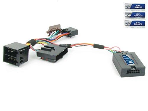 NIQ Lenkradfernbedienungsadapter geeignet für JVC Autoradios, kompatibel mit Renault Clio / Kangoo / Laguna / Megane / Scenic