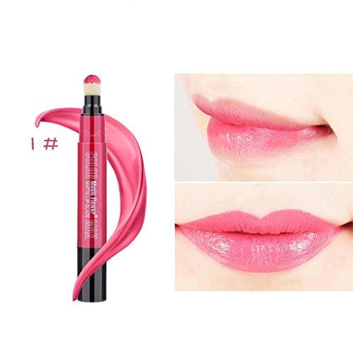 samlike Lippenstift, doux coussin d'air éponge rouge à lèvres mat soyeux morsure Lip Rouge à Lèvres