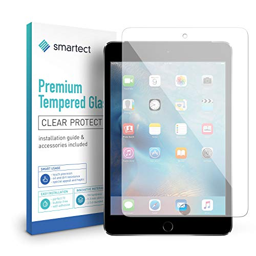 smartect Panzerglas für iPad Mini/Mini 2 / Mini 3 - Displayschutz mit 9H Härte - Blasenfreie Schutzfolie - Anti Fingerprint Panzerglasfolie