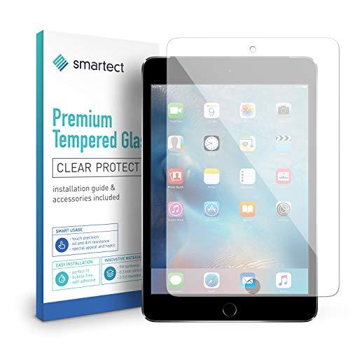 smartect Panzerglas für iPad Mini/Mini 2 / Mini 3 - Displayschutz mit 9H Härte - Blasenfreie Schutzfolie - Anti Fingerprint Panzerglasfolie - 2 Mini Ipad Screen Protector