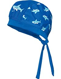 Playshoes Jungen Mütze Uv-Schutz Kopftuch Hai
