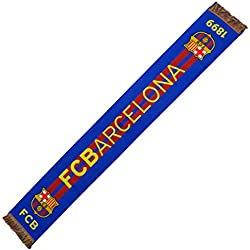 Bufanda Oficial FC BARCELONA - Horizontal 1898 - 120x20cm