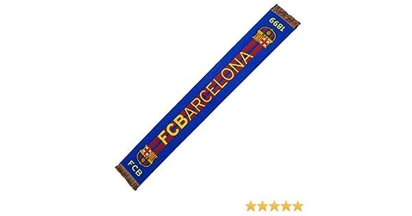 Sciarpa Ufficiale FC Barcelona/–/Orizzontale 1898/–/120/x 20/cm