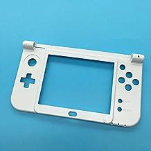 Meijunter White C Cover Middle Case Housing Shell Faceplate funda Cubierta de la carcasa caja para New Nintendo 3DSLL/3DSXL