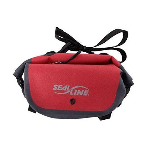 Reds Pak (SealLine Seal Pak - Red/Gray - wasserdichte Hüfttasche)