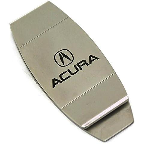 dantegts Acura Slim Money Clip silvertwo tono tensión Loaded TL MDX RL NSX RSX