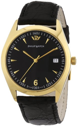 Philip Watch Men's Automatic Watch R8011480081 with Leather Strap