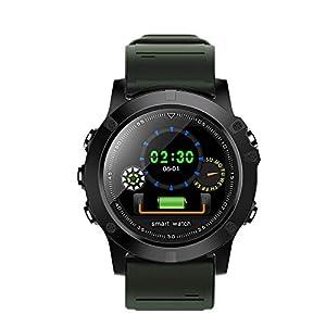 Chenang Sport-Armband,Intelligente Uhr, Bluetooth Smart Watch Blutdruck Smartwatch Test Eingehender Anruf Information Erinnerung Wasserdicht IP68 Fitnessarmband