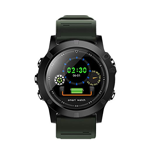 JiaMeng Smartwatches - Monitoraggio della pressione sanguigna impermeabile Smart Heart Rate per iOS Smart watch Bluetooth test di battito informazioni braccialetto impermeabile di livello promemoria