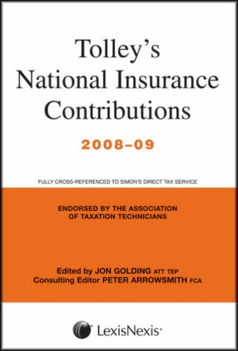 Tolley's National Insurance Contributions: Main Annual PDF Books