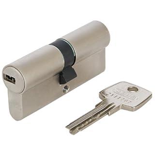 ABUS Profil-Zylinder D6XNP 40/45 mit Codekarte und 5 Schlüsseln, 48303