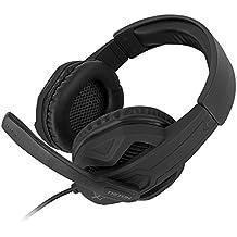 Atlantis Land Triton H310 Binaural Diadema Negro Auricular con micrófono - Auriculares con micrófono (Consola