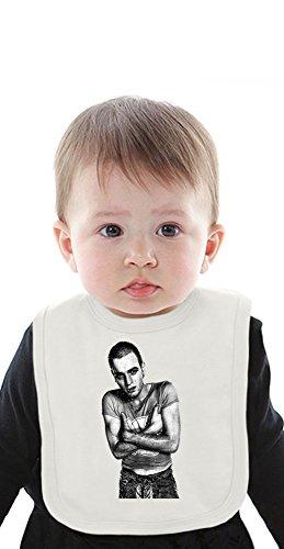Ewan McGregor Organic Baby Bib With Ties Medium -