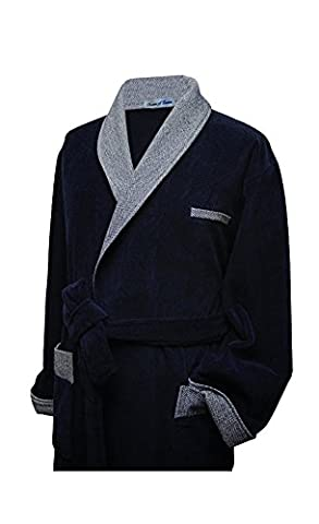 Bown of London, Men's Luxury Bamboo Cotton Bathrobe (X-Large)