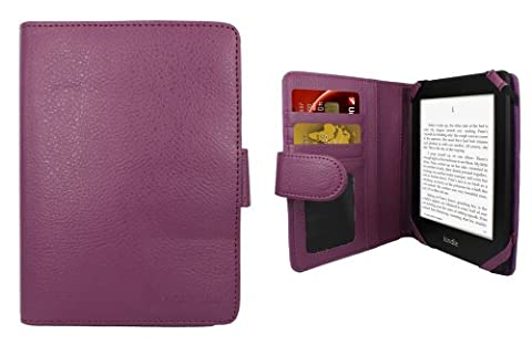 Aquarius Purple Executive PU Leather Pad Protective Case Cover Holder