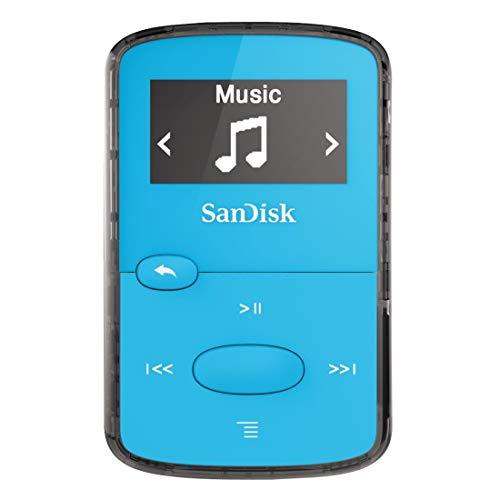 SanDisk Clip Jam 8GB MP3-Player Blau