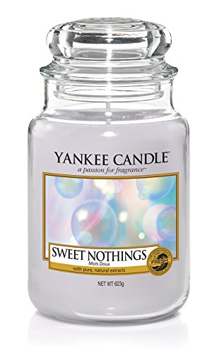 Yankee Candle Sweet Nothings Glaskerze, violett, 10 x 10 x 16,8 cm