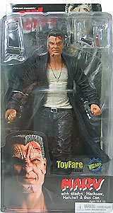 Sin City Marv ToyFare Exclusive Action Figure with Gladys, Hacksaw, Hatchet and Gas Gun (18+)