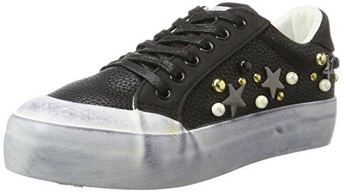 Fiorucci FEAD014, Sneaker Donna, Nero, 38 EU