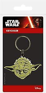 Keychain Star Wars - Llavero de Goma Yoda