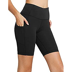 Sudawave Damen Fitness Yoga Shorts Trainieren Shorts