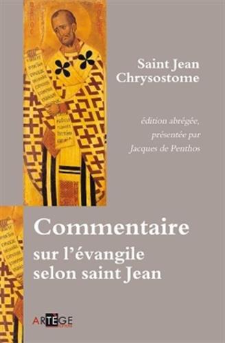 Commentaire sur l'évangile selon saint Jean