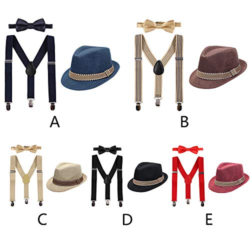 d28031ad056 1920 s Boys Kids Fedora Gangster Hat