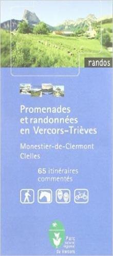 Carte de randonnée : Promenades et randonnées en Vercors - Trièves