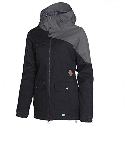Volcom Damen Snowboardjacke Gauge Ins Jacket Black, M - Volcom Stone Rings