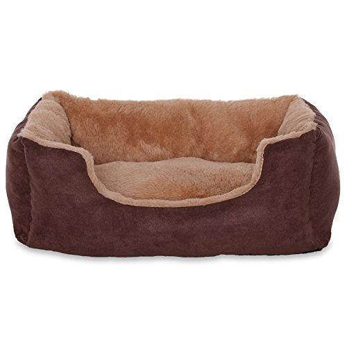 dibea - Hundebett - Hundekissen - Hundesofa mit Wendekissen (Größe und Farbe wählbar) 5