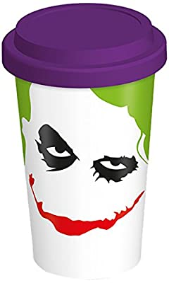 The Dark Knight Joker Tasse de voyage en céramique
