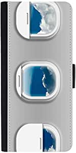 Snoogg Airplane Windows Designer Protective Back Case Cover For Asus Zenfone ...