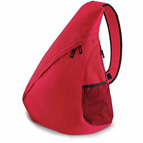 Bag Base Mixte Bg211cred Sac monobretelle Universel, Rouge Classique, Medium