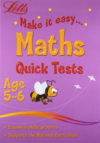 Maths Age 5-6 (Letts Make It Easy) by unknown (2008) Paperback