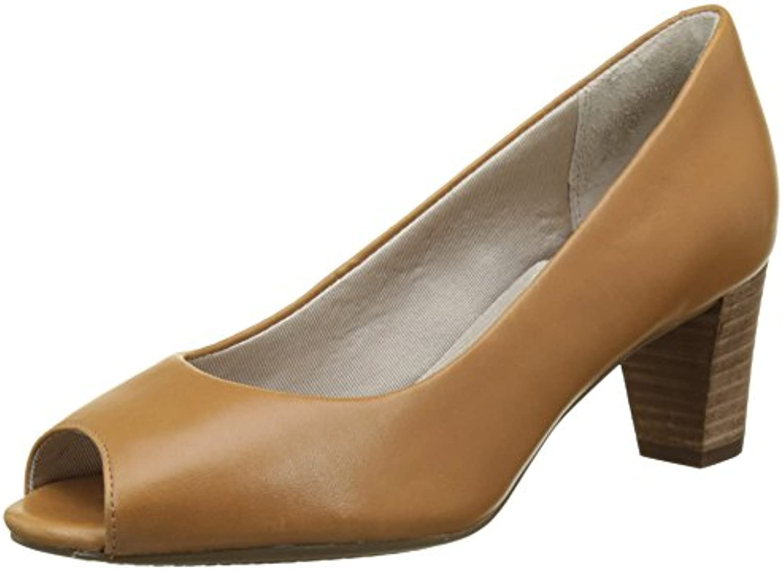 Rockport France Audrina Peep, Zapatos de Tacón con Punta Abierta para Mujer