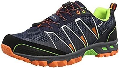 CMP Altak, Scarpe da Trail Running Uomo, Blu (Navy-Mint-Orange Fluo 97bd), 41 EU