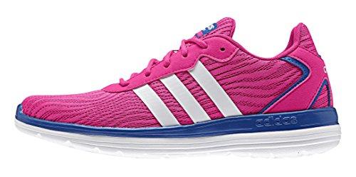 adidas Cloudfoam Speed W, Chaussures de Sport Femme, Rose Rouge / blanc / bleu (rose shocking / blanc Footwear / bleu)