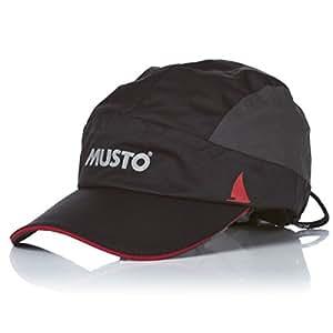 Musto Waterproof Performance Cap AS0700 - BLACK/DARK GREY