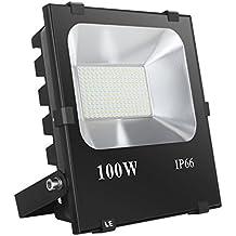 LE Foco proyector LED 100W ~ 400W SAP Exteriores, 10000 lúmenes, Blanco frío