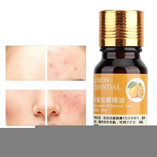 Ätherisches Öl Ätherisches Öl für die Aromatherapie Zitrone Ätherisches Öl Fußbad Aromatherapie Körpermassage Hautpflegeöl 10ml -