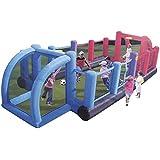 Happy Hop - Hinchable campo futbol, 800 x 330 x 180 cm (Swiftech 9072)