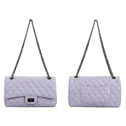 E-Girl Q0335 donna Borse a spalla,Borse a tracolla26x14x8 cm (B x H x T) Purple