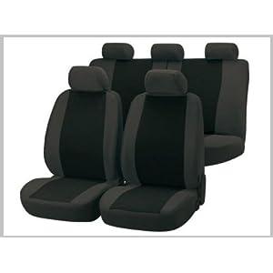 Walser 11303 Autositzbezug Classic grau schwarz