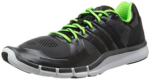 Adidas adipure 360.2 baskets pour homme - dunkelgrau / neongrün