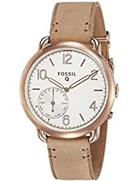 Fossil Q Tailor Hybrid Tan Leather Smartwatch
